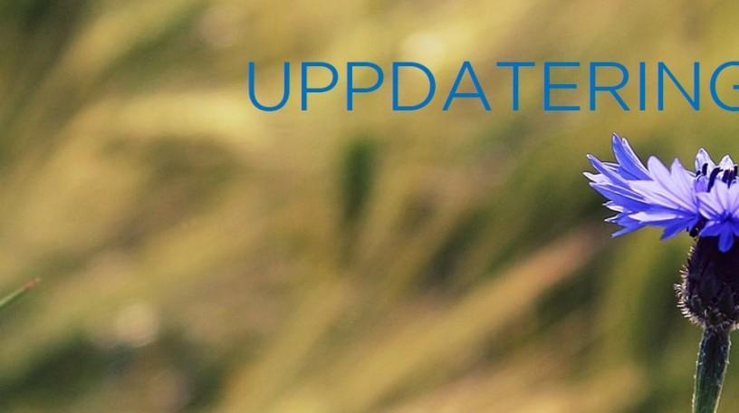 Uppdatering blåklint